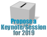 Propose a Keynote/Session for 2019